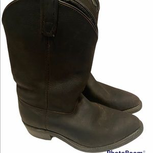 Vintage Double-H Boot Company Western Cowboy boots